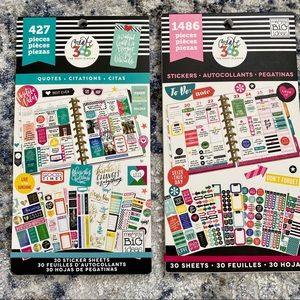 Happy Planner Sticker Books